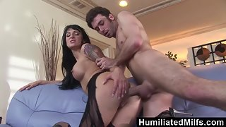 Brunette Slut Victoria Sin Gets Many Styles Fucked by James Deen