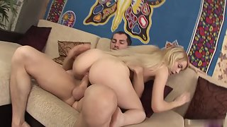 Cute Blonde Teen Spice Loves Her Deejay Boyfriend Big Cock Fuck Until He Cum